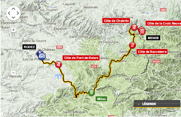 tour de france gorges du tarn lozere