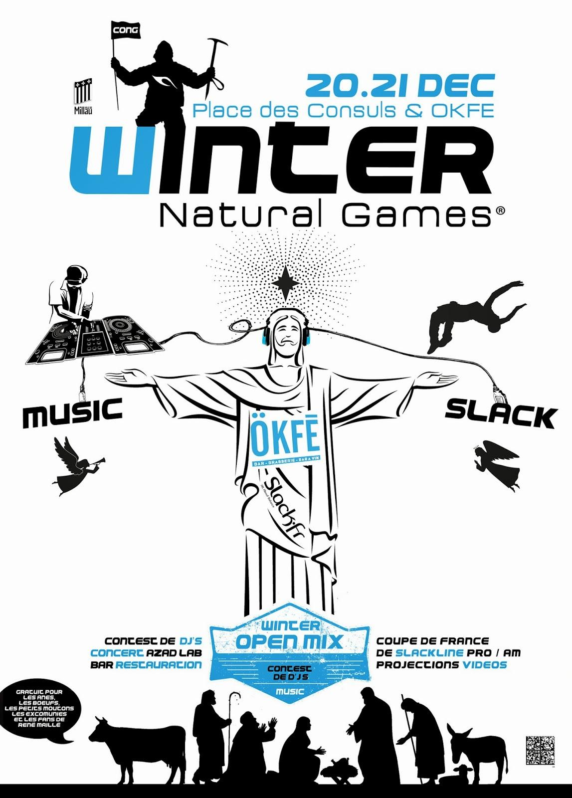 winter natural games