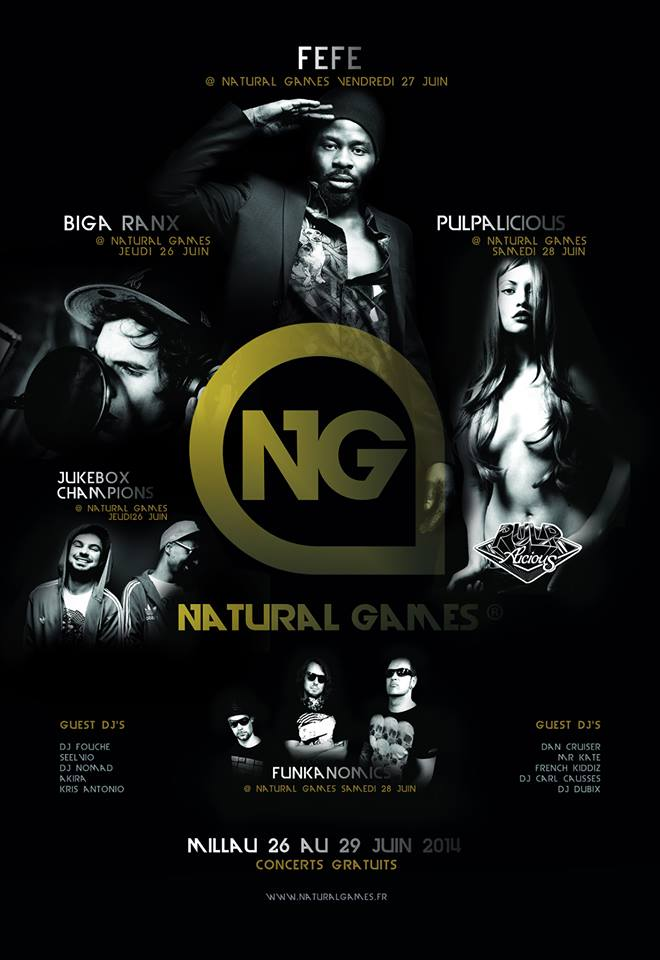 affiche natural games 2014