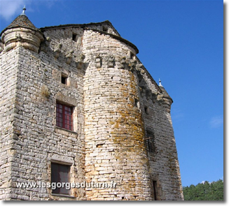 chateau gorges tarn